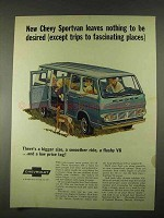 1967 Chevrolet Sportvan 108 Ad - Nothing to Be Desired