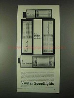 1967 Vivitar Speedlight Flash Ad - 35, 44, 32, 56