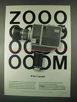 1967 Vivitar TL6 Movie Camera Ad - 6 to 1 Zoom