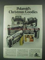 1967 Polaroid Cameras Ad - Christmas Goodies