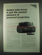 1967 Kodak Carousel 850 Slide Projector Ad - Pleasure