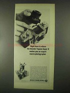 1967 Beseler Topcon Super D Camera Ad - Right Here