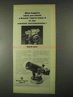 1967 Beseler Topcon Super D Camera Ad - What Happens