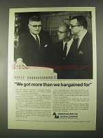 1967 American Mutual Insurance Ad - We Got More Than