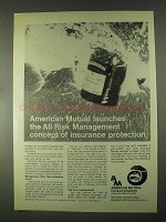 1967 American Mutual Insurance Ad - All Risk Management