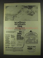 1967 The St. Paul Insurance Ad - Protect in Paris