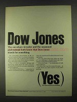 1967 Dow Jones Ad - One-Share Investor and Professional