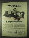 1967 Marsh & McLennan Insurance Ad - Your Employees