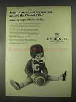 1967 Bache & Co. Ad - How Do You Aim a Two-Year-Old