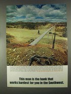 1967 Chemical New York Bank Ad - In The Southwest