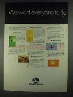 1967 Eastern Airlines Ad - We Want Everyone to Fly