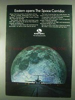 1967 Eastern Airlines Ad - Opens the Space Corridor