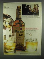 1967 Seagram's V.O. Whisky Ad - Not Sure Their Tastes