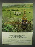 1967 Seagram's 100 Pipers Scotch Ad - His Ancestors
