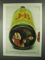 1967 J&B Scotch Ad - Tasting
