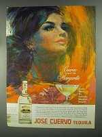 1967 Jose Cuervo Tequila Ad - Created the Margarita