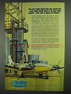 1967 Beechcraft Turbo Baron Plane Ad - One Small Part