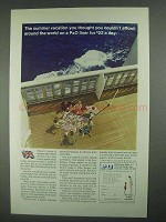 1967 P&O Lines Ad - Summer Vacation Couldn't Afford