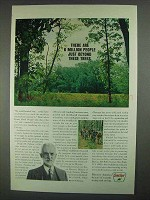 1967 Sinclair Oil Ad - 6 Million Beyond These Trees