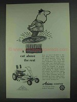 1967 Ariens Riding Mower Ad - A Cut Above the Rest