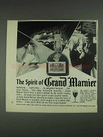 1967 Grand Marnier Liqueur Ad - The Spirit Of