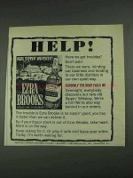 1967 Ezra Brooks Bourbon Ad - Help!