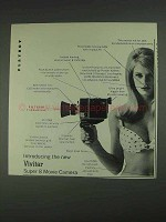 1967 Vivitar Super 8 Movie Camera Ad - This Model