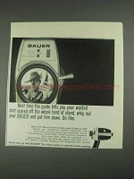 1967 Bauer C-2 Super 8 Movie Camera Ad - The Guide
