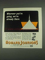 1967 Howard Johnson Motor Lodges Ad - Wherever
