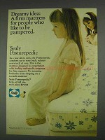 1967 Sealy Posturepedic Mattress Ad - Dreamy
