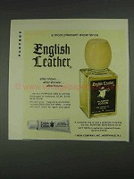 1967 English Leather All-Purpose Lotion Ad - Pleasant