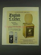1967 English Leather All-Purpose Lotion Ad