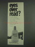 1967 Murine For Your Eyes Ad - Eyes Over Read?