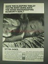 1967 Nytol Sleeping Tablet Ad - Good Housekeeping Seal