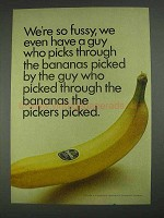 1967 Chiquita Banana Ad - We're So Fussy