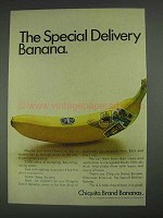 1967 Chiquita Banana Ad - The Special Delivery Banana