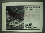 1967 Starcraft Mariner V Sportabout Boat Ad - Lure