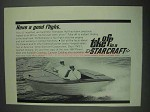 1967 Starcraft Caravel Power Boat Ad - Good Flight