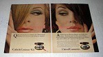 1967 Clairol Cosmetics Color & Contour Kit Ad