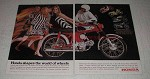 1967 Honda Motorcycle Ad - Trail 90, Rally, Sport 50