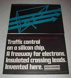 1967 Fairchild Semiconductor Ad - Traffic Control