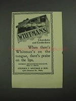 1902 Whitman's Chocolates and Confections Ad