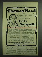 1903 Hood's Sarsaparilla Ad - Everybody's Humor
