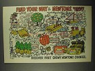 1984 Nabisco Fig Newtons Ad - Find Your Way To