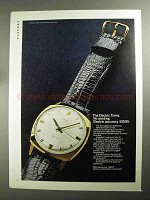 1968 Electric Timex Watch Ad - No Winding