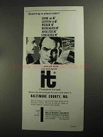 1968 Baltimore County, MD Industrial Development Ad - Plant Site