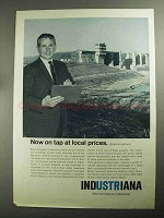 1968 Indiana Department of Commerce Ad - Now on Tap