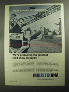 1968 Indiana Department of Commerce Ad - Road Show