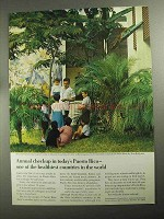 1968 Puerto Rico Economic Development Ad - Checkup