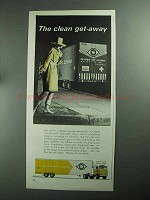 1968 United Van Lines Ad - The Clean Get-Away